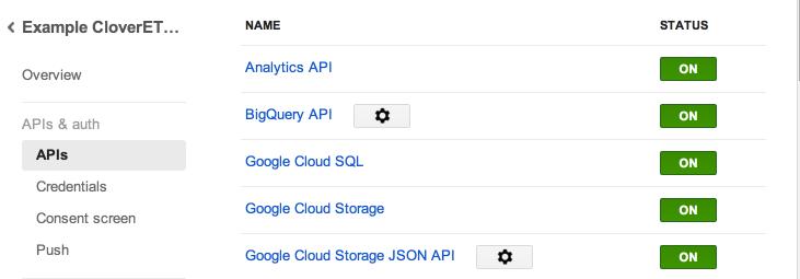 EnableAnalyticsApi in google API