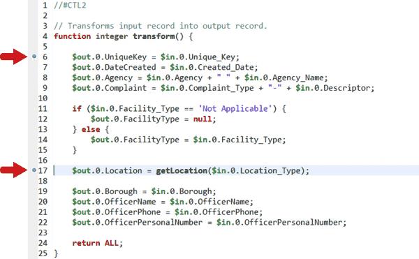 Code Debugging - Breakpoints
