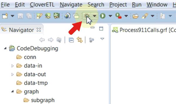 Code Debugging Debug Run Button